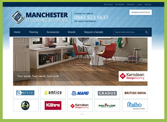 Manchester Ecommerce website design
