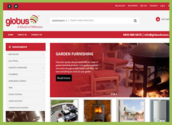 Globus Homes Ecommerce